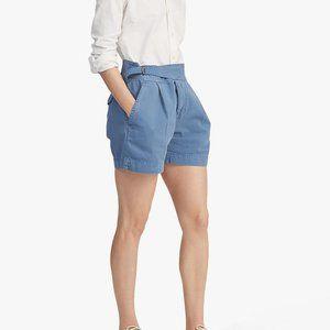 Polo Ralph Lauren Blue Pleated Chino Short